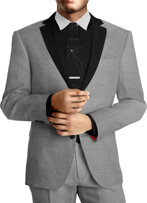 Tissu lainage gris foncé by Woolmark costume