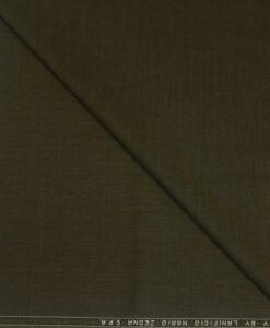 Tissu lainage kaki clair by lanificio mario zegna