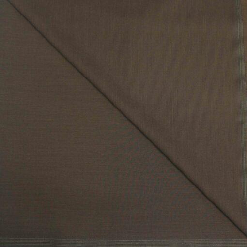 Tissu lainage marron terre