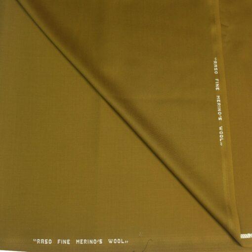 Tissu lainage or foncé merino's wool