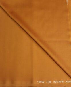 Tissu lainage rouge safran merino's wool safran