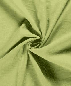 Tissu lin citron vert