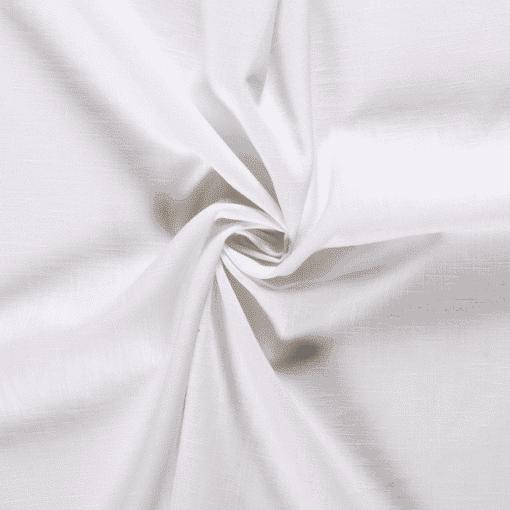 Tissu lin pur blanc