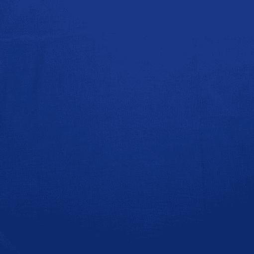 Tissu lin pur cobalt