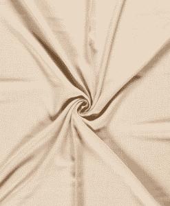 Tissu polyester panama beige
