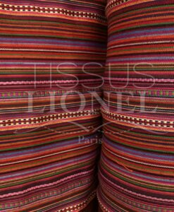 Mexican poncho fabric 017