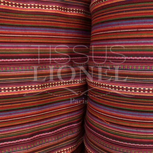 Tissu poncho mexicain 017