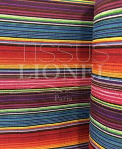 Mexican poncho fabric 018