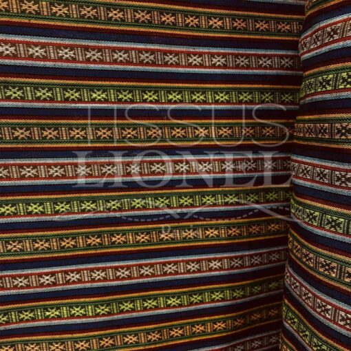 Tissu poncho mexicain 021
