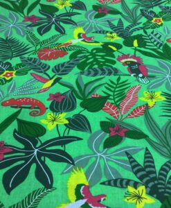 poplin cotton fabric Caribbean