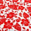 Hawaii rojo tela popelina de algodón