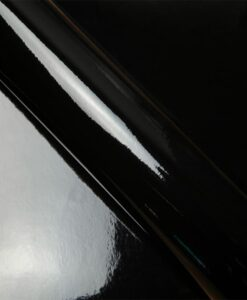 Tissu pvc miroir noir