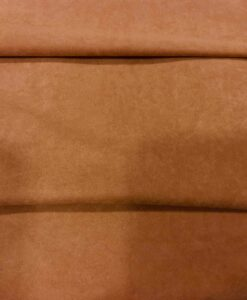 rust suede fabric