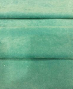suede fabric Green Duck