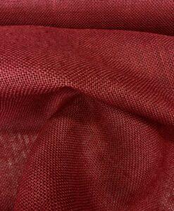 tela de la arpillera burdeos