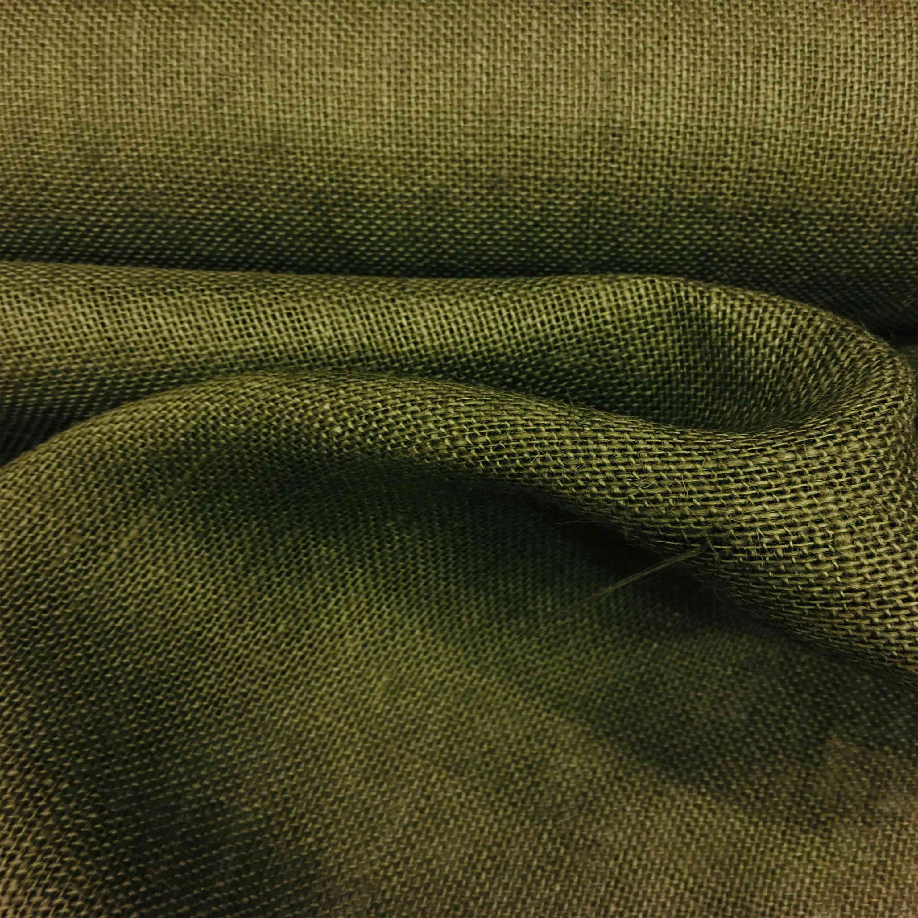 tissu toile de jute kaki tissus lionel. Black Bedroom Furniture Sets. Home Design Ideas