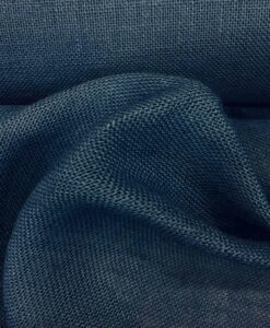 Tela de arpillera azul marino