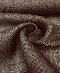коричневая мешковина ткань