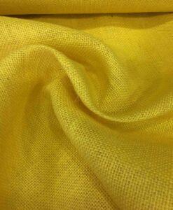 tela de arpillera de oro