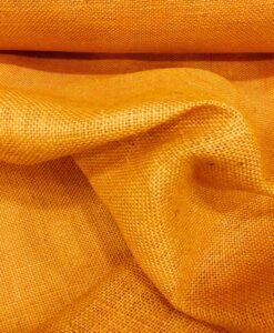 tela de la arpillera azafrán