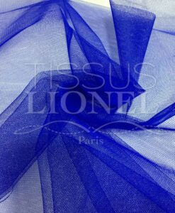 royal blue tulle fabric