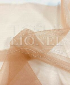 soft nude tulle fabric