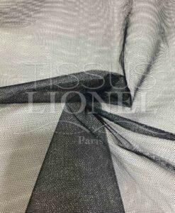 черный тюль ткань