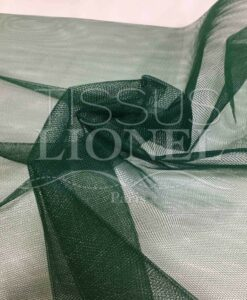 Fabric squeeze bottle green tulle