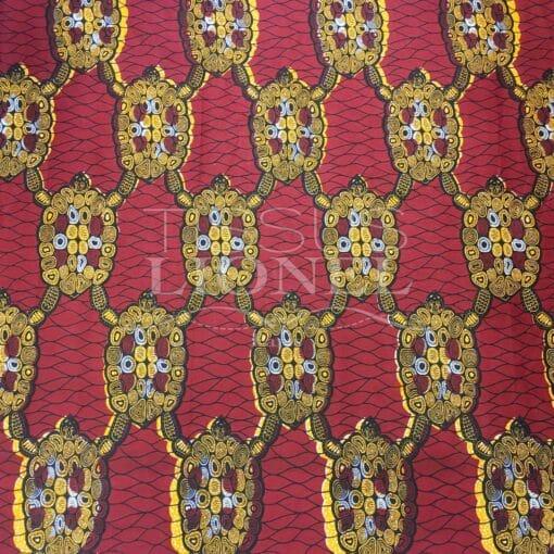 Tissu Wax Africain Coton Imprimé13