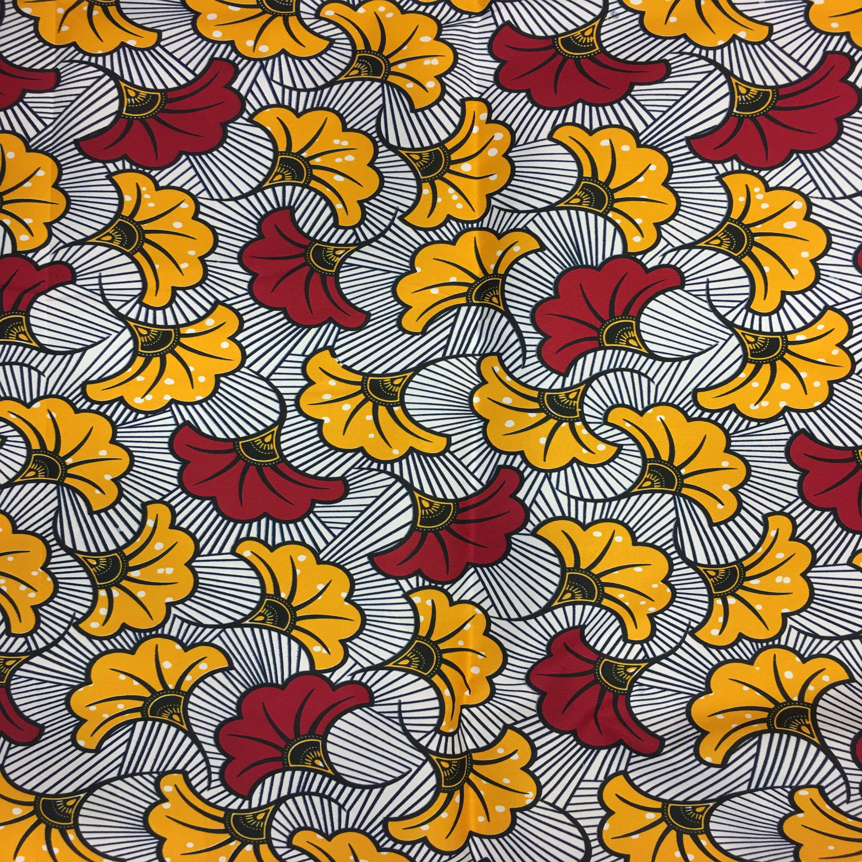 tissu wax fleurs de mariage tissus lionel. Black Bedroom Furniture Sets. Home Design Ideas