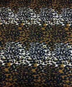 Tissu wax leopard