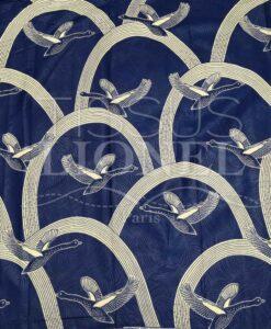 Tissu wax migration