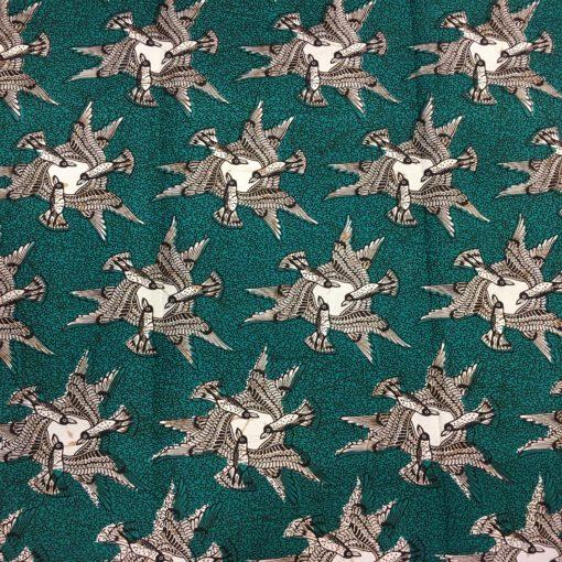 Tissu wax Oiseau migrateur