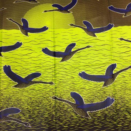 Tissu wax vol d'oiseau