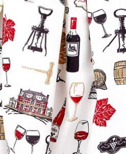 Tissu coton vigneron
