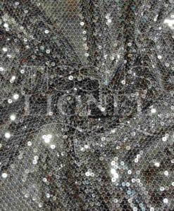 Silber Pailletten Tüll