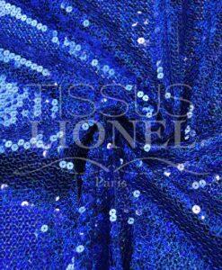 Glitzer auf BLUE HOLOGRAM Jerseye