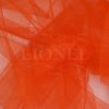 tulle red orange