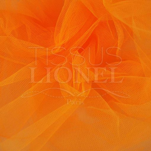 tulle red orange fluo