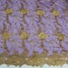robrode tulle purple and gold Cleopatra