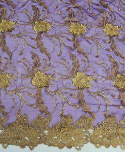 robrode тюль пурпур и золото Клеопатра