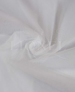 white soft tulle