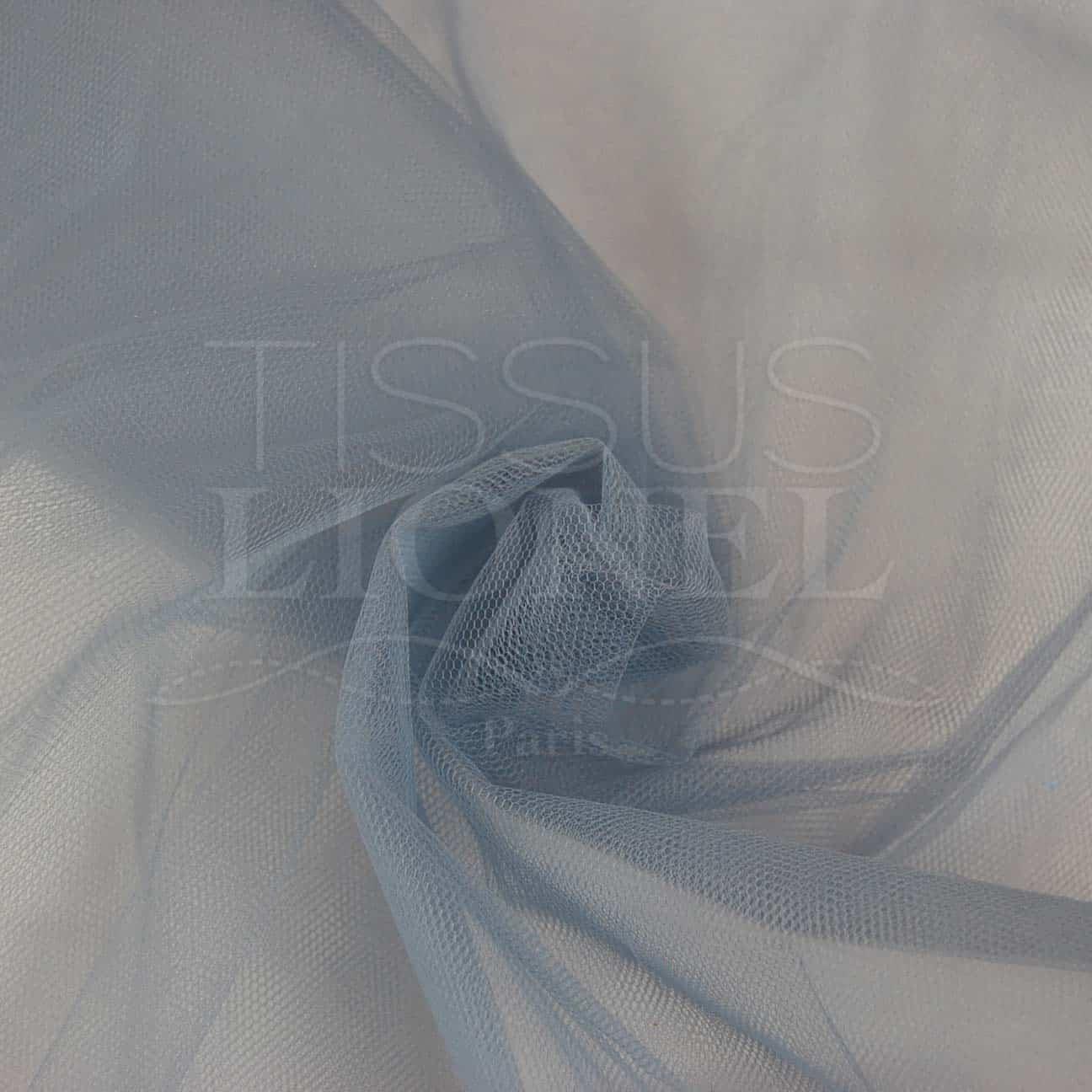 ee4c03ef0531 Morbido tulle BLU GRIGIO - Lionel Tessuti