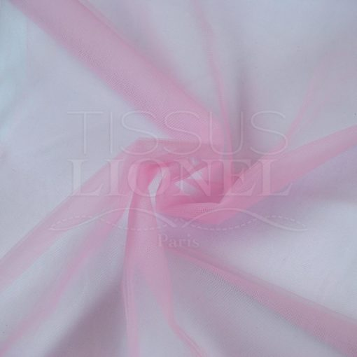 tulle souple rose pale