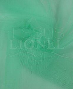 Мягкие бледно-зеленый тюль