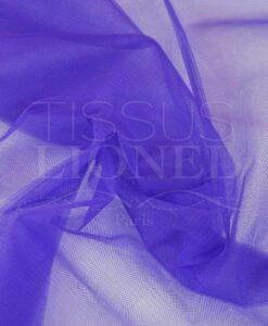 tulle souple violet