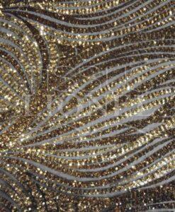 splendida serie tulle 3 sfondo nero glitterato oro
