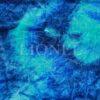 velour dégradé bleu et turquoise