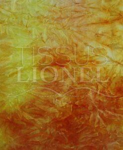 велюр желтый и оранжевый градиент