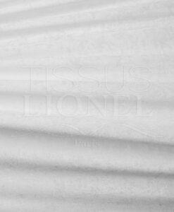 velour froissé blanc